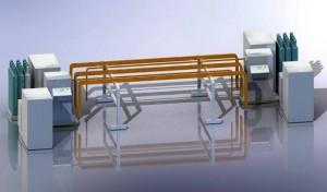C-Coil Annealing Device AT-CCAD / C-Spulen Glühvorrichtung