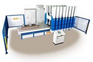 Pole Coil Consolidation Press AT-PCCP / Polspulenpresse